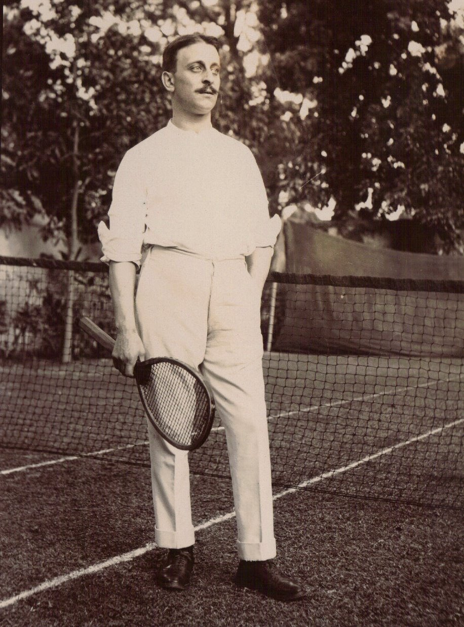 Tennis Player, Calcutta c.1903