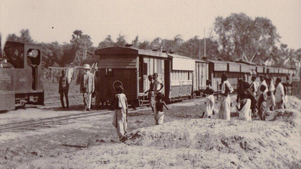 Railway Scene, Calcutta c.1903