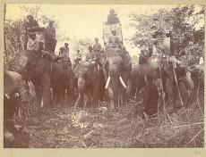 British emperor George V's Hunting in Nepal