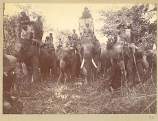 British emperor George V's Hunting in Nepal