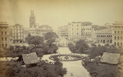 Elphinstone+Circle,+Bombay+1870+Photo+2