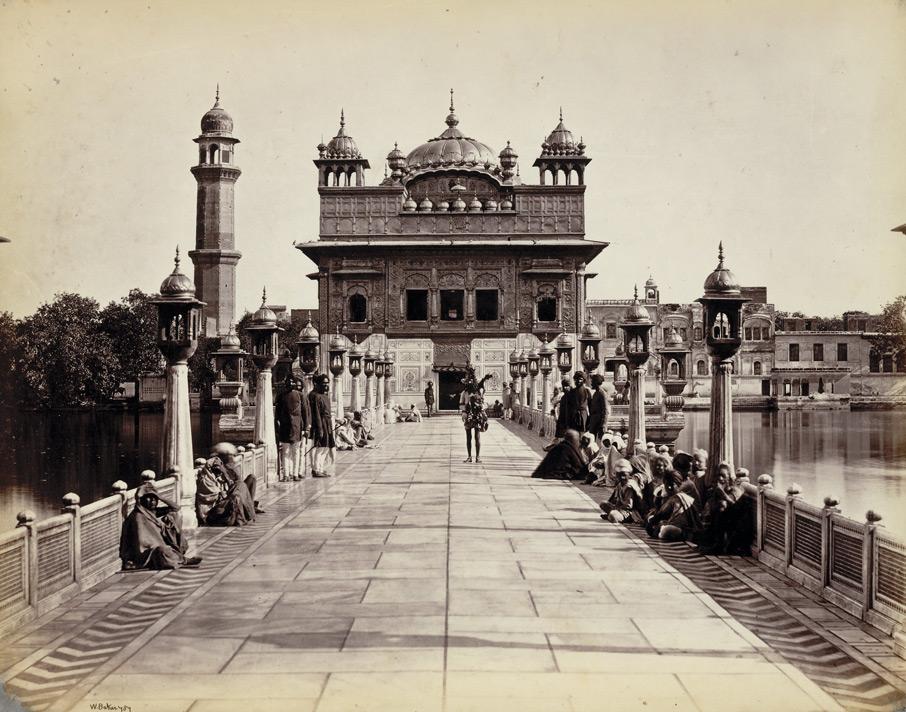 when was golden temple built