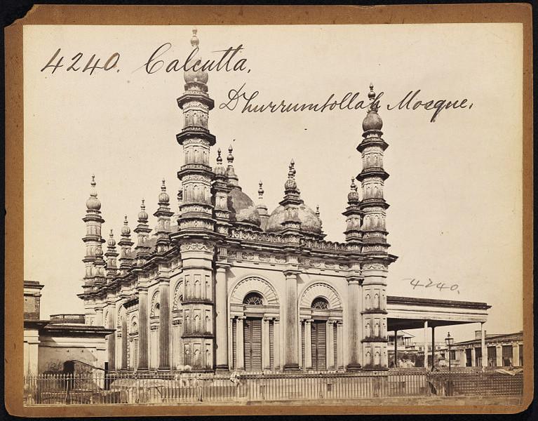 Dhurrumtollah Mosque Calcutta ( Kolkata ) - Mid 19th Century