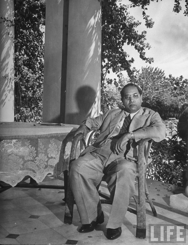 Dr. Bhimrao Ramji Ambedkar at home - 1946