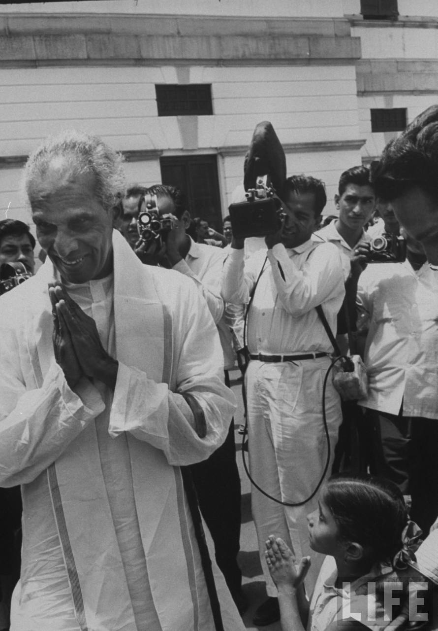 Former Indian Defense Minister V. K. Krishna Menon - June 1964