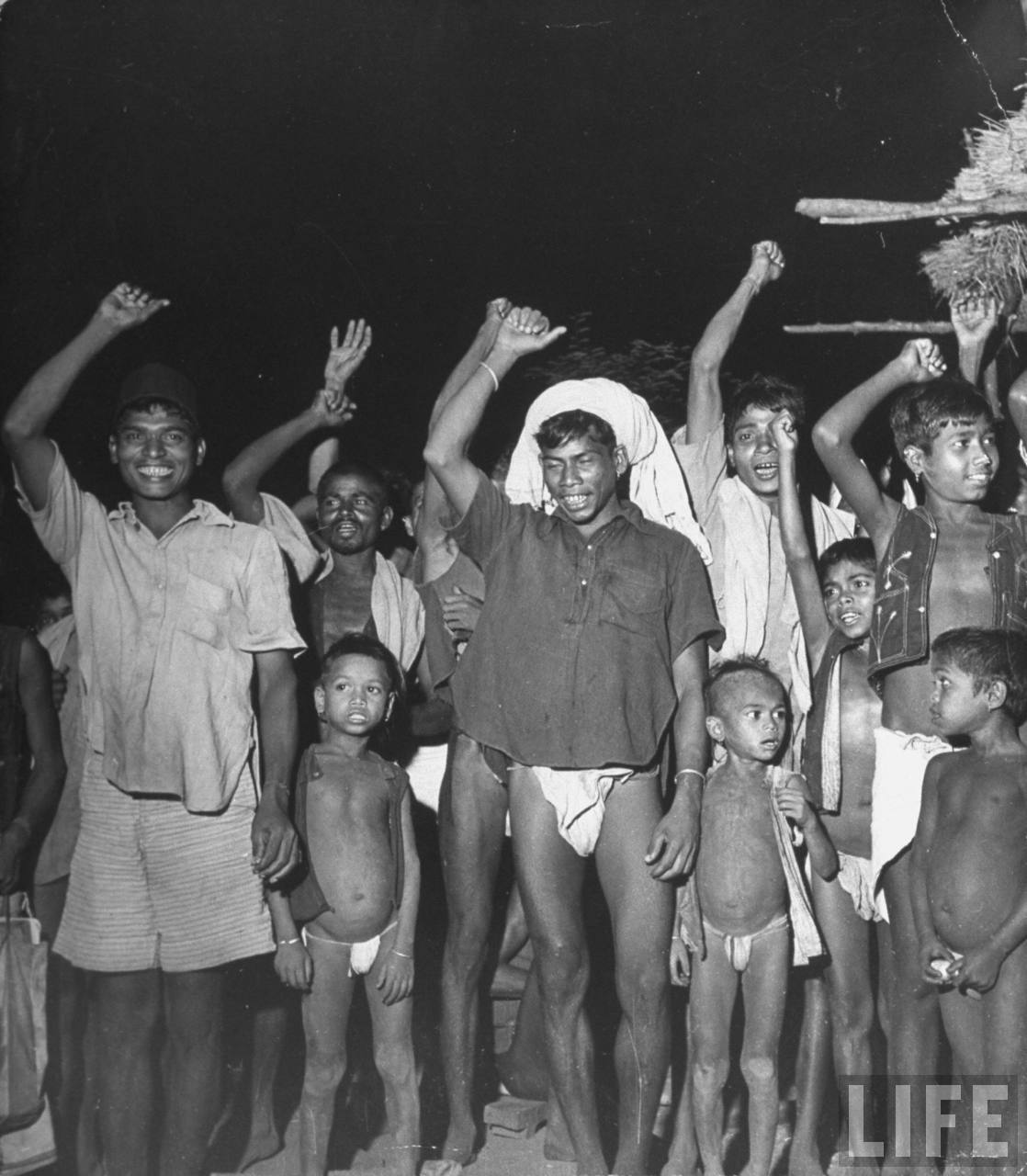 Indian aborigines Communist villagers