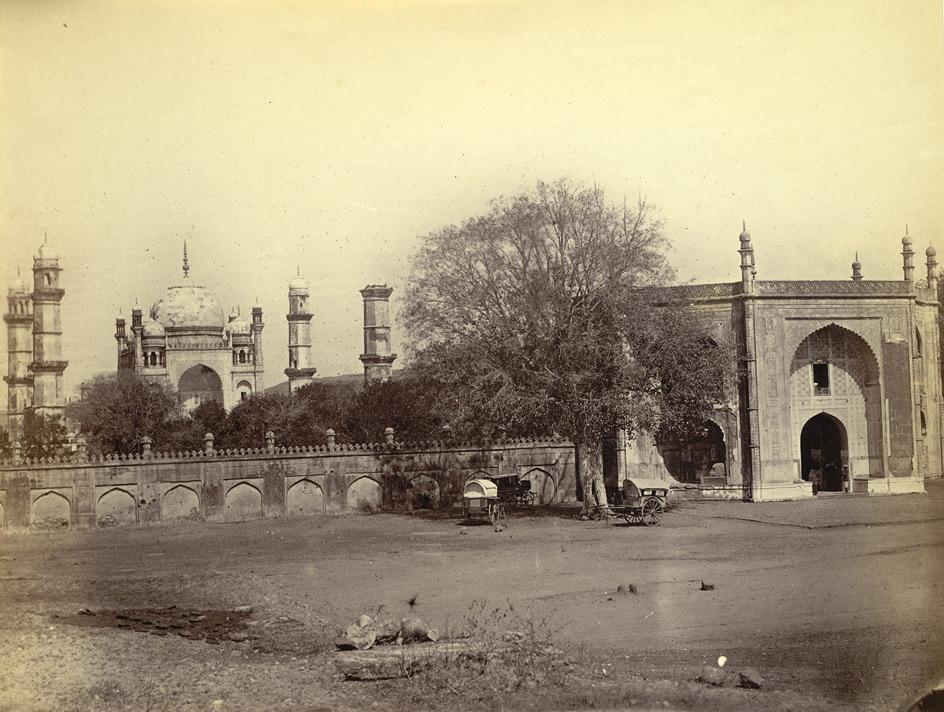 Bibi ka maqbara aurangabad maharastra 1860 old indian for Bibi shehar bano history