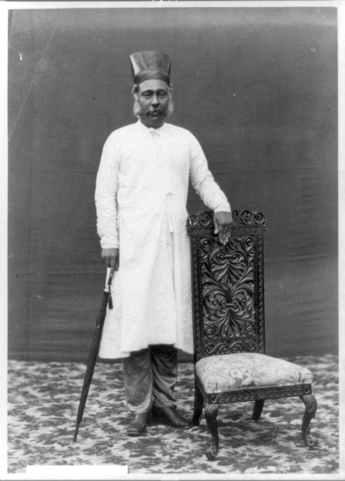 Standing Portrait of a Indian Man - Date Unknown