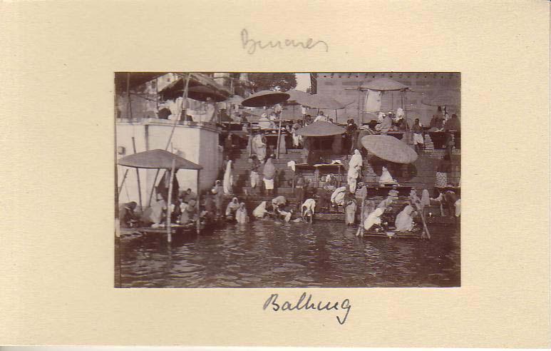 Bathing at Varanasi Ghat