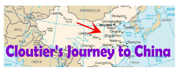 Cloutier's Journey to China