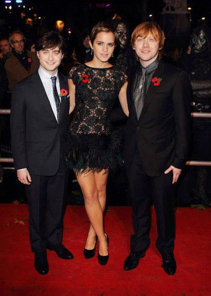 emma watson 2010 harry potter premiere. Daniel Radcliffe, Emma Watson