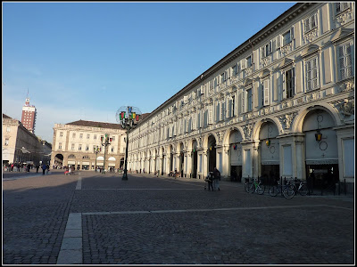 Turin - City Central Square (Piazza)