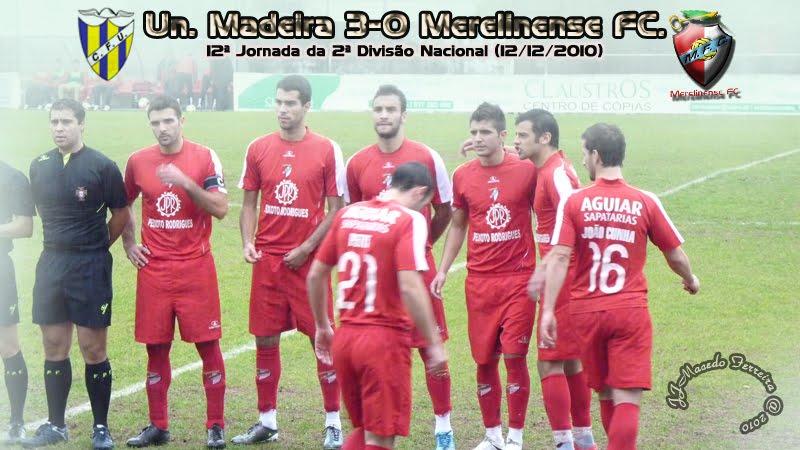 União da Madeira 3-0 Merelinense (12ª jornada) MereUniao