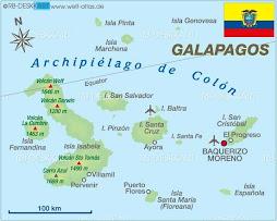 Mapa Archipielago de Colón