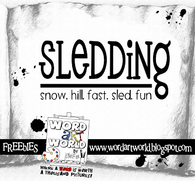 http://wordartworld.blogspot.com/2010/01/sledding.html