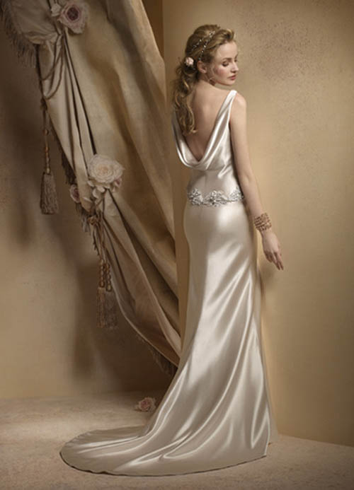 gorgeous wedding dress gorgeous backless wedding dresses
