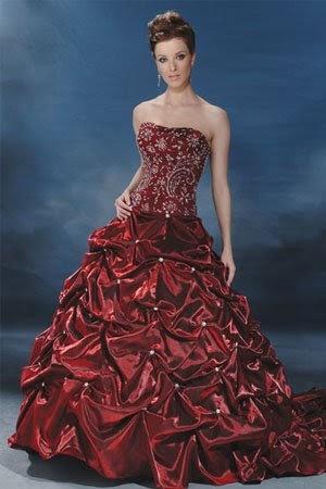 Plus size dresses gorgeous burgundy wedding dresses for Burgundy wedding dresses plus size