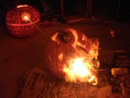 Pumpkin Death Star Alderaan Death Star Destroying Alderaan