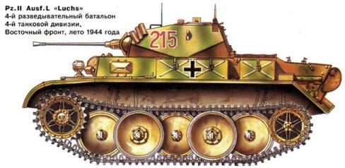 luchs танк