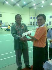 Kejohanan Badminton Cabaran Staf UPSI 2009