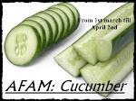 AFAM: Cucumber