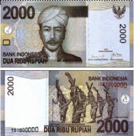 Bank Indonesia secara resmi meluncurkan uang kertas baru pecahan Rp2 ...