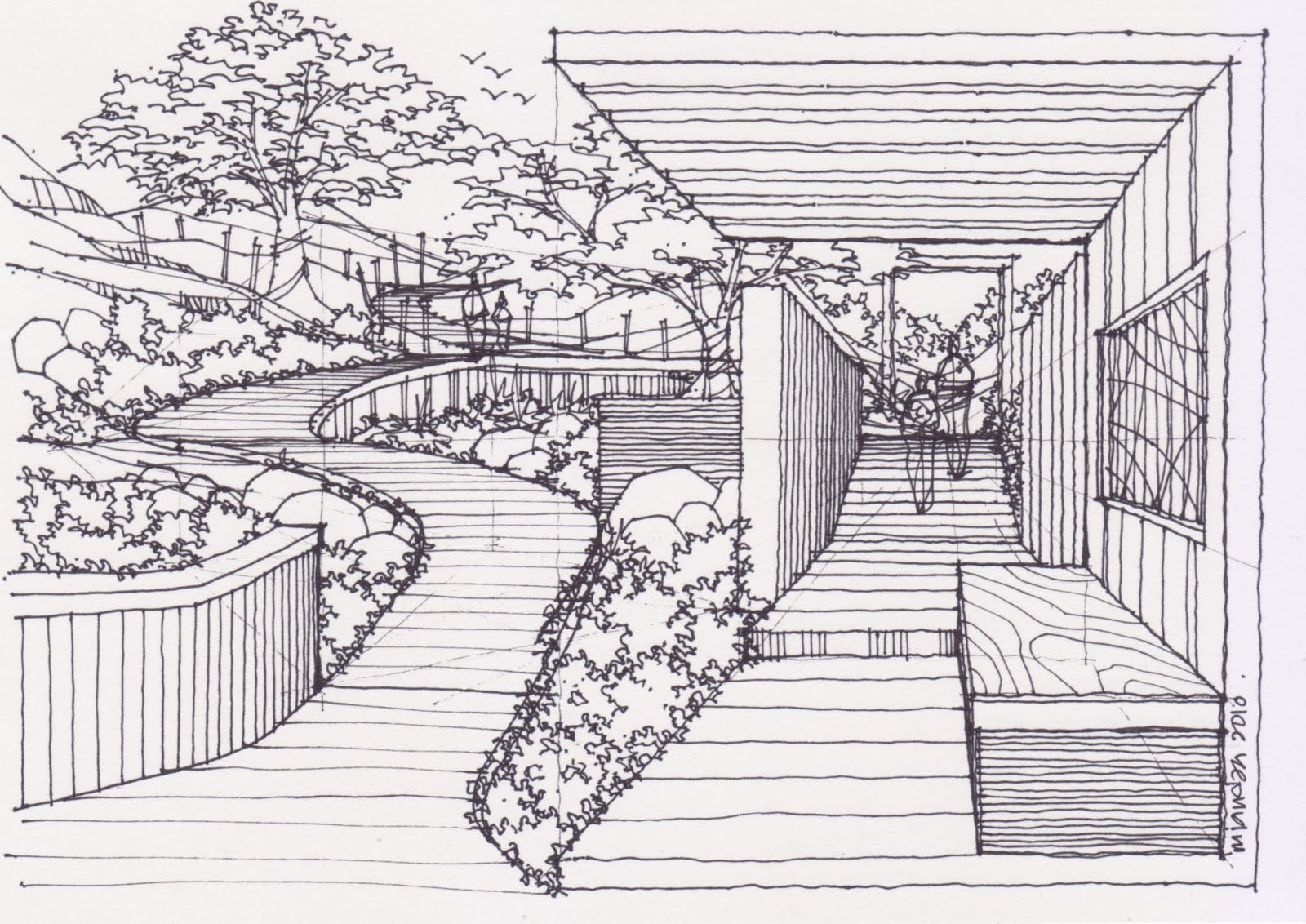 How To Draw A Garden 240710