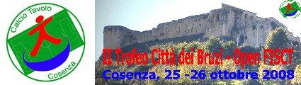 Calcio Tavolo Cosenza