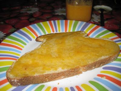 Torrada de melmelada de mandarina