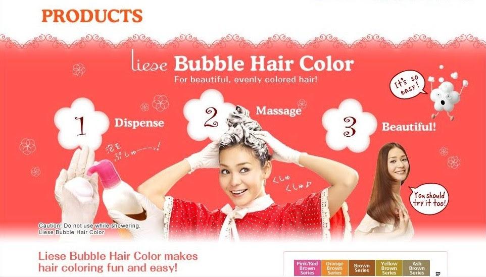 LITTLE AMOI SAYS: Mewarnakan Rambut Semudah Memakai Shampoo