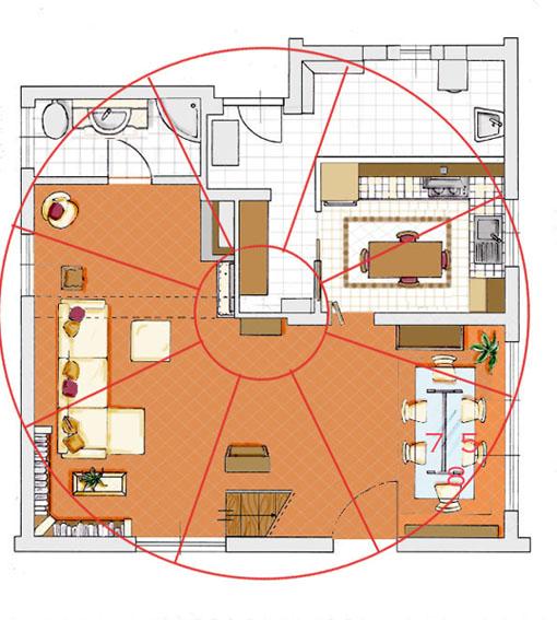 Una villa ed il feng shui blog arredamento for Feng shui arredamento