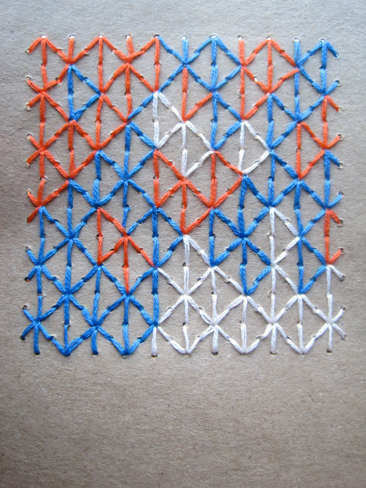 Curiousdoodles geometric embroidery patterns on paper