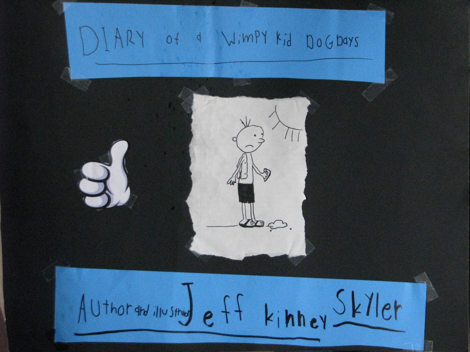 Of A Wimpy Kid Book Report