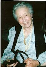 CUENTOS - ELADIA MONTESINO-ESPARTERO (mi madre) - FOTO: Al cumplir los 100 años - ENLACE EN LA FOTO