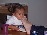 The Saavedra Family Blog: Smelly Feet