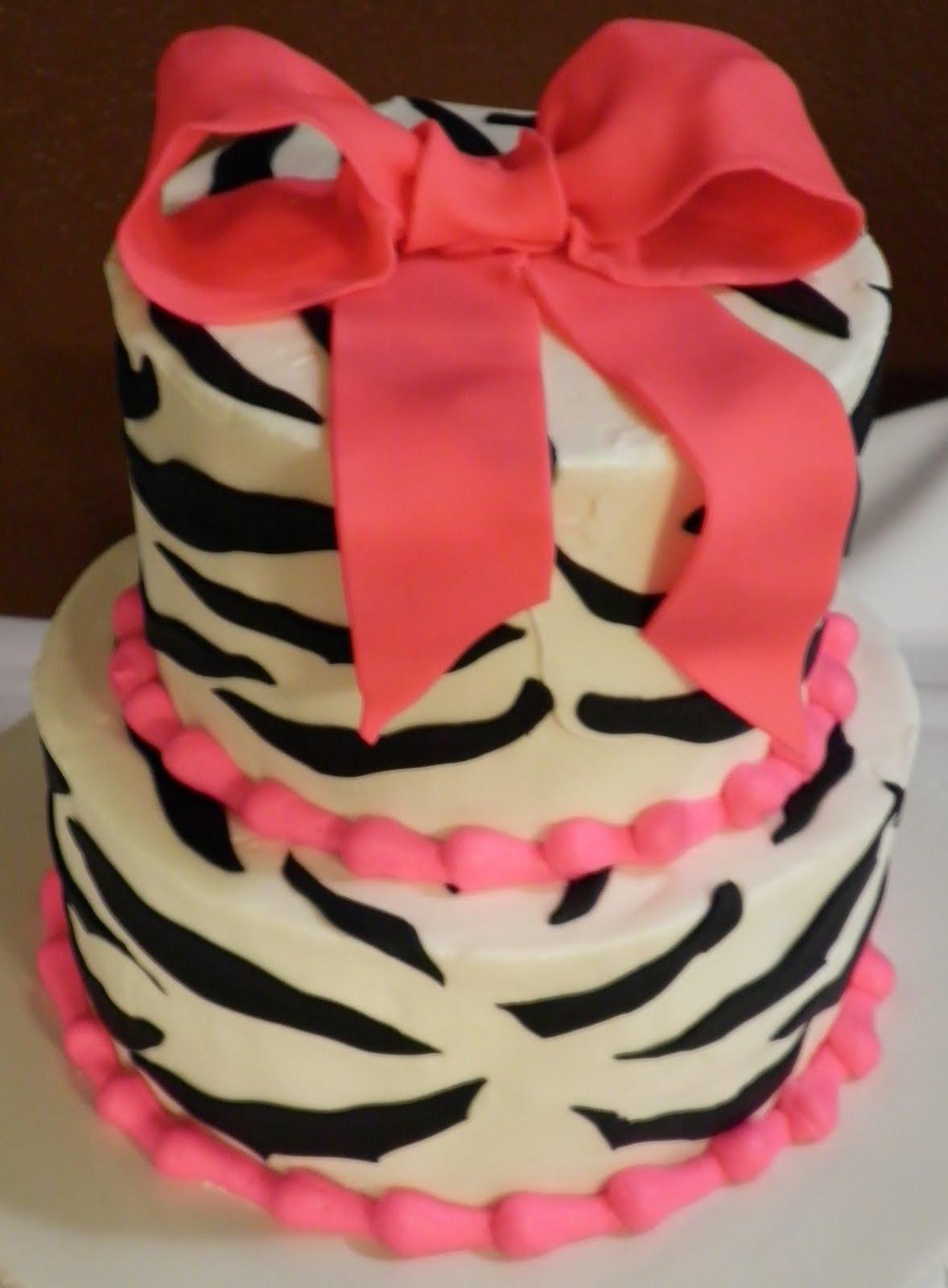 Blanca's Cakery: Zebra Cake
