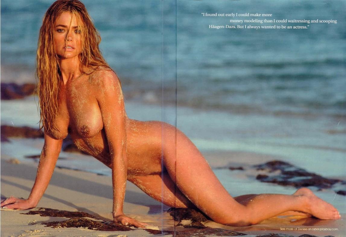 Denise Richard Nude Playboy
