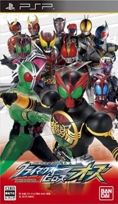 Kamen%2BRider%2BClimax%2BHeroes Kamen Rider Climax Heroes OOO PSP