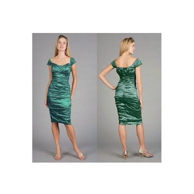 Site Blogspot   Shoulder Dress on Emerald Off Shoulder Dress By Nicole Miller