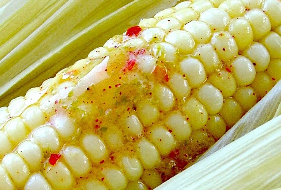 Dragon's Kitchen: Roasted Corn with Chili Lime Butter