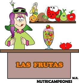 NUTRICAMPEONES: FRUTAS