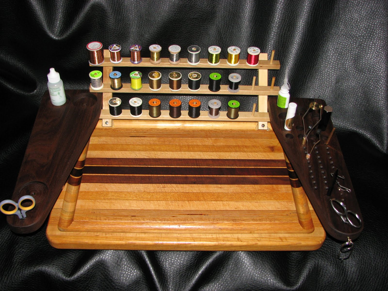 Building A Fly Tying Bench