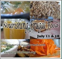 Frugal Nourishing Foods: Dinner Time!