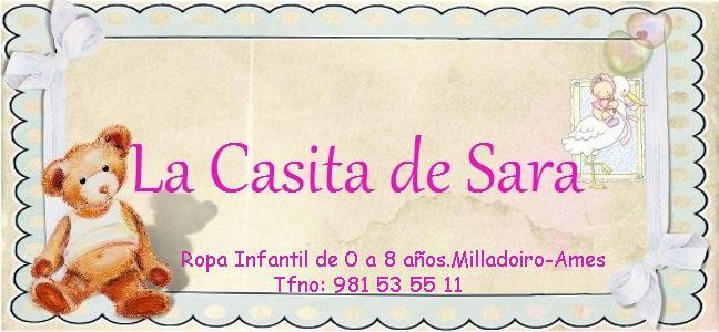 La casita de Sara.Boutique Infantil
