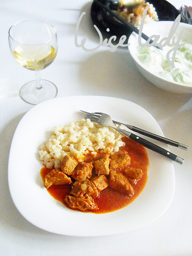 Porkolt (Hungarian Stew) Made