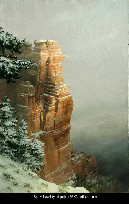 Winter on the Rim (Grand Canyon)