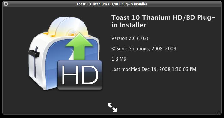 Toast 10 titanium 10.0.8.564