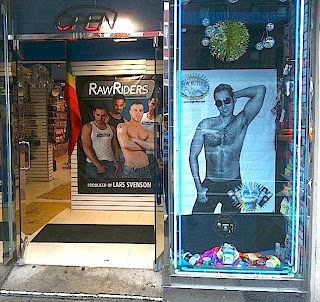 New Springtime Boy Butter window display in Chelsea area store