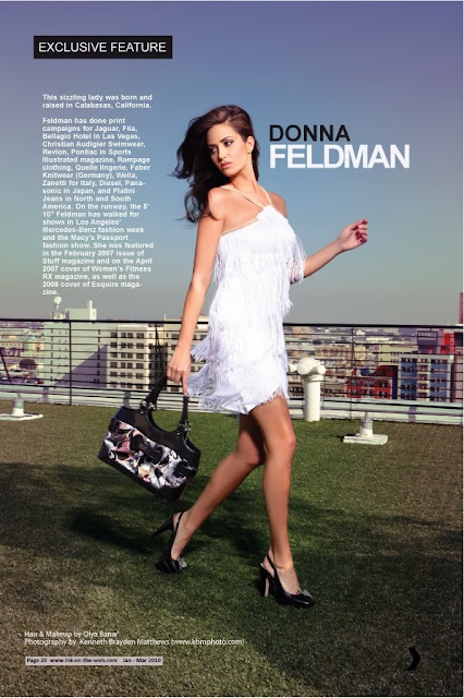 Pakistan's Premiere Fashion Mag: Ink Magazine features Donna Feldman