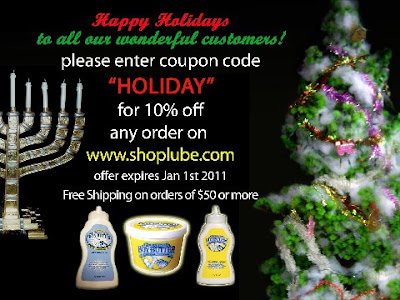 Happy Holidays from Shoplube.com